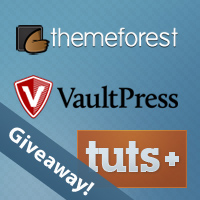 Wptuts+ Giveaway: Win eBooks, Resources, and a VaultPress Subscription!