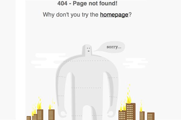 Tutsplus 404 page