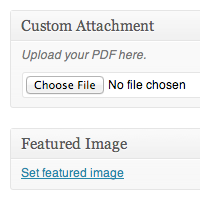 Attaching Files To Your Posts Using WordPress Custom Meta Boxes, Part 1