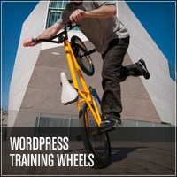 WordPress Theme Development Training Wheels: Day Three