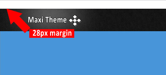 28px Margin