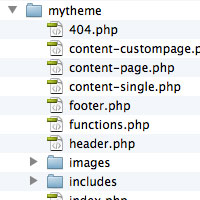 Organizing and Naming Your Themes' Template Files for Clarity and Convenience