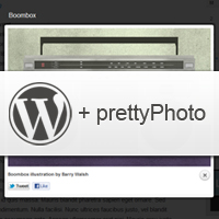 How to Integrate prettyPhoto with Post Images in your Themes