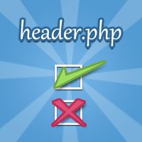The header.php &#8211; What Needs to Go in It and What Doesn&#8217;t
