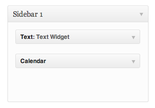 Example Widgets