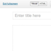 Quick Tip: Visual Editor &#8211; Change Full Screen Width and Match Theme Style