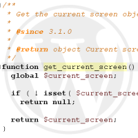 Quick Tip: Conditionally Including JS and CSS With get_current_screen