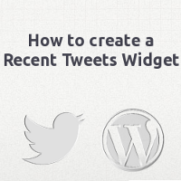 How to Create a Recent Tweets Widget