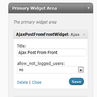 Adding Posts to a Site's Front-End Using AJAX