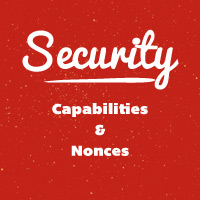 Capabilities and Nonces